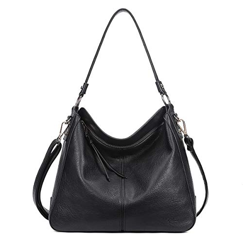 CLUCI Purses and Handbags for Women Designer Leather Hobo Tote Fashion Ladies Crossbody Large Bucket Shoulder Bag