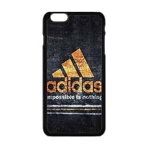 "The logo of Adidas for Apple iPhone 6 Plus 5.5""Black Case Hardcore-6"