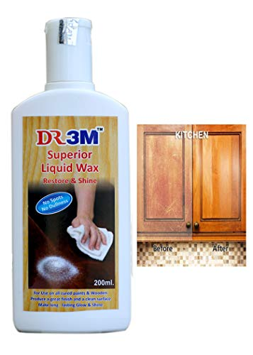 DR3M X94- Cleaning Solution Superior Wooden Liquid Wax 200ml