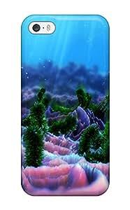 Abikjack Iphone 5/5s Hybrid Tpu Case Cover Silicon Bumper Sea Life