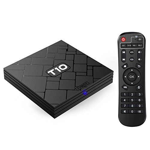 Bqeel T10 Smart Android TV Box / Android 5.1 /Amlogic S905 Cortex A53 Quad-Core CPU / Mali-450 5-Core GPU / 2GB SDRAM +8GB eMMC / KODI 16.1 (XMBC) vorinstalliert / 4K / 1080p / 3D Streaming Media Player mit Wi-Fi / HDMI / DLNA / USB / SPDIF