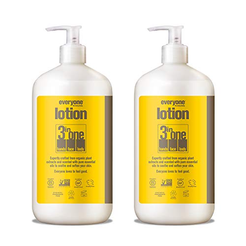 Everyone Lotion: Coconut And Lemon, 32 Ounce, 2 Count