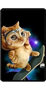 Funda para Kindle Fire 7 pouces - Gato Del Monopatín