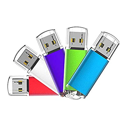 Aiibe USB Flash Drive Colorful 5Pack by Aiibe