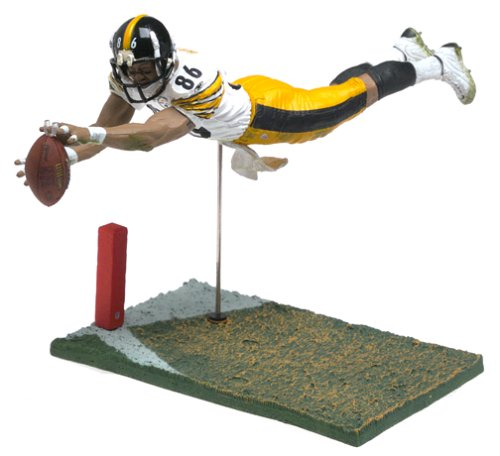 McFarlane Toys NFL Sports Picks Series 7 Action Figure Hines Ward (Pittsburgh Steelers) White Jersey Variant