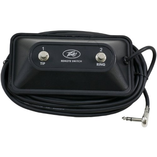 Peavey 2 Button Special Use Momentary Footswitch by Peavey