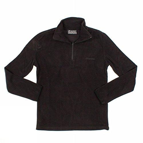 Lotto Sweat HZ Iza Pile BS - Forro polar para mujer, color negro, talla XL