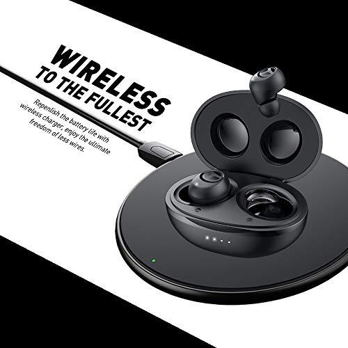 TRANYA T10 Fone de ouvido Bluetooth 5.0 com estojo de carregamento Fones de ouvido estéreo TWS à prova d'água IPX7 na…