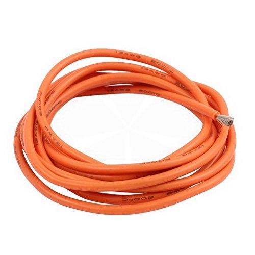 5メーター13 AWGオレンジゲージ柔軟なStranded銅ケーブルシリコンワイヤーfor RCシリコンby ugtell   B07B2V1VH8