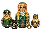 Irish Nesting Doll 5pc./5''
