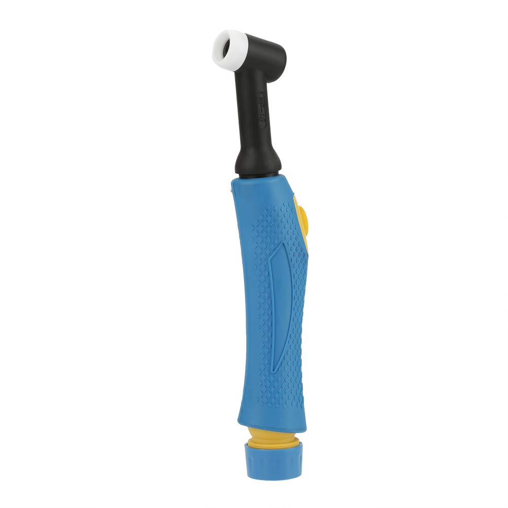 Hilitand Cuerpo de Cabeza Flexible Flexible refrigerado por Agua de la antorcha de Soldadura TIG WP-18 con botón de Interruptor, refrigerado por Agua: ...