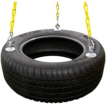 Amazon Com Tractor Recycled Tire Tree Swing Toys Amp Games