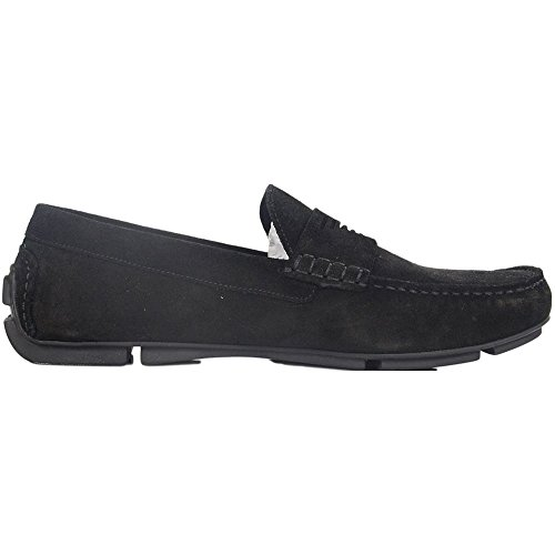 Emporio Armani Driving Shoe Uomo Scarpe Nero Nero