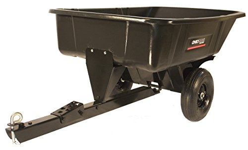 Cheap Ohio Steel 3040PSD Poly Cart With Swivel Dump, 10 cu. ft.