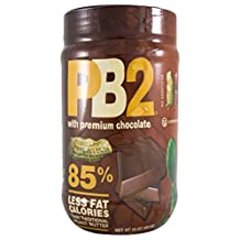 PB2 Powdered Peanut Butter and Chocolate (4 Pack), 16 Oz
