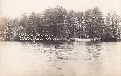 E2258 MA, Abington Island Grove Photo Postcard