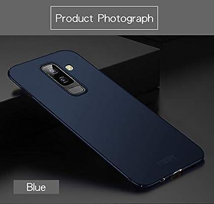 wholesale dealer ff12f d242a Loxxo® Samsung J8 2018 Cover Ultra Slim Design Soft TPU Back Case Cover for  Samsung J8 2018 (Blue)