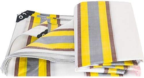 FQJYNLY ターポリンタープポリエチレン耐湿性日よけ折りやすい トラックアウトドア、21サイズ (Color : Multi-colored, Size : 4x5m)