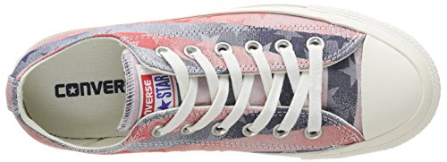 mixte Multicolore Stars Converse Bar adulte amp; mode Rouge Chuck Bleu Taylor Baskets Jaquard xqw8qnavHp