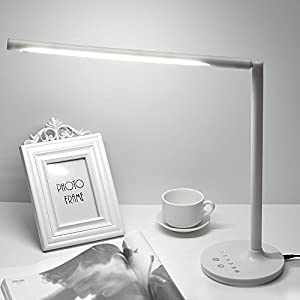 {6 Lighting Brightness Modes Table Lamp} Senbowe™9W 30 LED Dimmable Eye-Care LED Desk Lamp, 3 Color Modes, Touch-Sensitive Controller, for Kids,Home,Office,Bedroom and etc