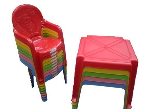Fantastic Kids Childrens Nursery Table And Chair Set Chairs With Interior Design Ideas Gresisoteloinfo