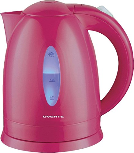Ovente KP72F 1.7 L BPA-Free Electric Kettle, Fast Heating Co