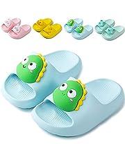 NEUSOP Badslippers voor kinderen, douche, badschoenen, voor jongens en meisjes, licht, zomer, platte pantoffels, sandalen voor peuters, antislip