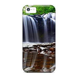 New Arrival Premium 5c Case Cover For Iphone (waterfall Reflections)