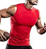 DRSKIN Men's Compression Shirt Tank Tops
