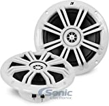 "Kicker 41KM604W 6-1/2"" 6.5"" KM-Series 150W Peak/50W RMS Marine Speakers KM60 New"