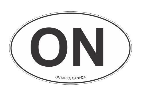 canada oval decal - 4