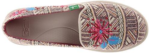 Sanuk Kvinna Gypsy Rae Slip-on Loafer Cerise Multi