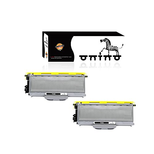 onino Compatible Toner Cartridges Replacement for Brother TN360 HL-2140 HL-2170W DCP-7030 DCP-7040 MFC-7340 MFC-7345N MFC-7440N MFC-7840W Black 2-Pack
