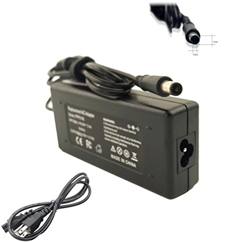 DJW 90W High Power Supply+Cord Charger Adapter For HP CQ60-615DX DV7-6C95DX DV6-6C35DX 2000-2B19WM CQ57-339WM DV7-1245DX DV7-3165DX DV4-2145DX DV7-4285DX DV6-6135DX DV7-6135DX G71-340US - Compaq 515 Notebook