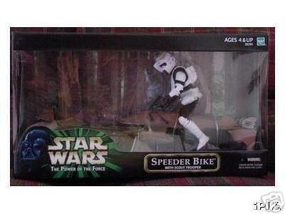 Hasbro Star Wars 12 Inch Scale Scout Trooper w/ Speeder Bike
