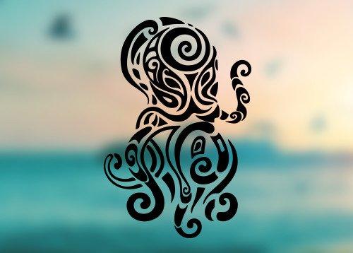 Octopus - Vinyl Decal Outdoor Weatherproof - SELECT SIZE