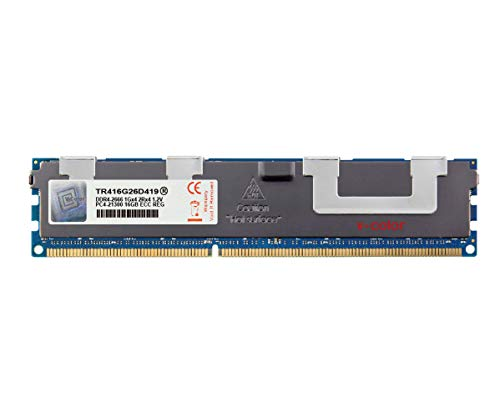 V-Color 16GB (1 x 16GB) Dual Rank Server Memory Ram Module Upgrade DDR4 2666MHz (PC4-21300) ECC Registered DIMM with Heat Sink 1.2V CL19 2Rx4 (TR416G26D419)