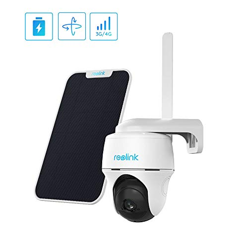 🥇 Outdoor Security Camera System Pan Tilt 3G/4G LTE Solar Battery Powered Camera