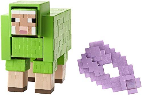 Mattel Minecraft Shearable Sheep Basic Figure, 5