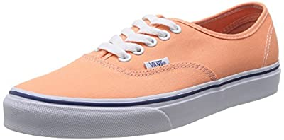 Vans Orange Sport Shoes Authentic