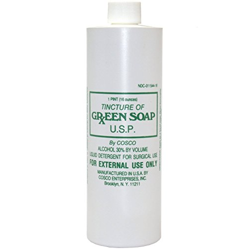 Cosco Tincture of Green Soap, 16 oz - Technical Equipment
