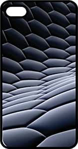 Black Honey Comb Black Rubber Case for Apple iPhone 6