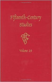 Descargar En Utorrent Fifteenth-century Studies Vol. 29 Novelas PDF