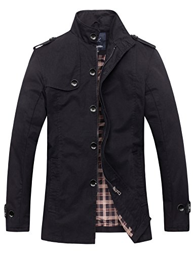Wantdo Men's Cotton Stand Collar Windbre - Summer Cotton Jacket Shopping Results