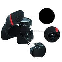 Sacoche Waterproof pour appareil photo pour Canon EOS 350D 400D 450D 500D 600D 1000D 1100D 1200D 1300D objectif 18–55mm de protection