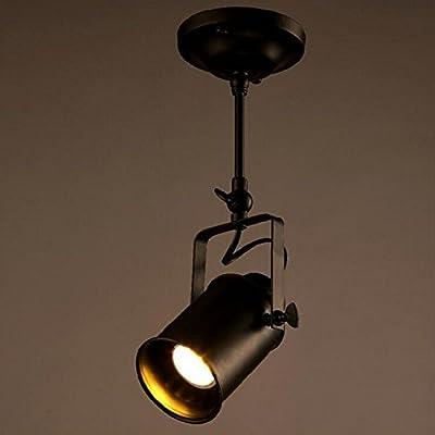 Rustic Adjustable Single Light LED E26/E27 Stage Spotlights Track Lighting (one Head)