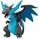 "Pokemon Center Japan Mega Charizard X Stuffed 10"" Plush Doll(Discontinued by manufacturer)"