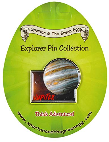 340 Explorer - Spartan and the Green Egg Explorer Pin Series: Jupiter (340)