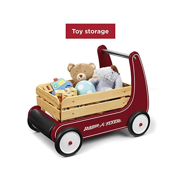 Best Walker Wagon Radio Flyer 2021 - Sit to Stand Toddler Toy