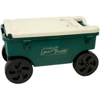 Amazon Com The Ames Companies Inc Cart Lawn Buddy Poly
